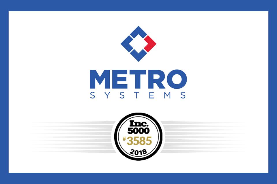 Metro Systems Inc. 5000 Profile